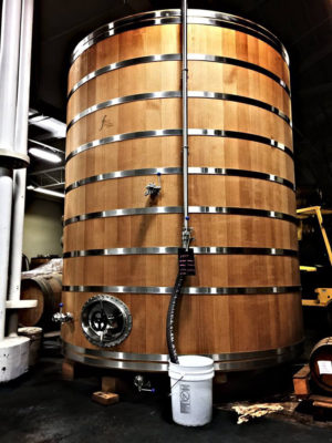 A barrel aging beauty lays in wait at Hermitage Brewing Co. in San Jose.