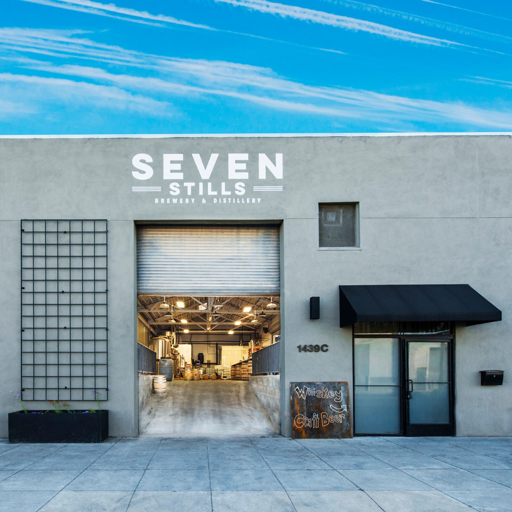 Seven Stills Brewery & Distillery's split facilities in SF cross-pollinates craft beer and craft distilling.
