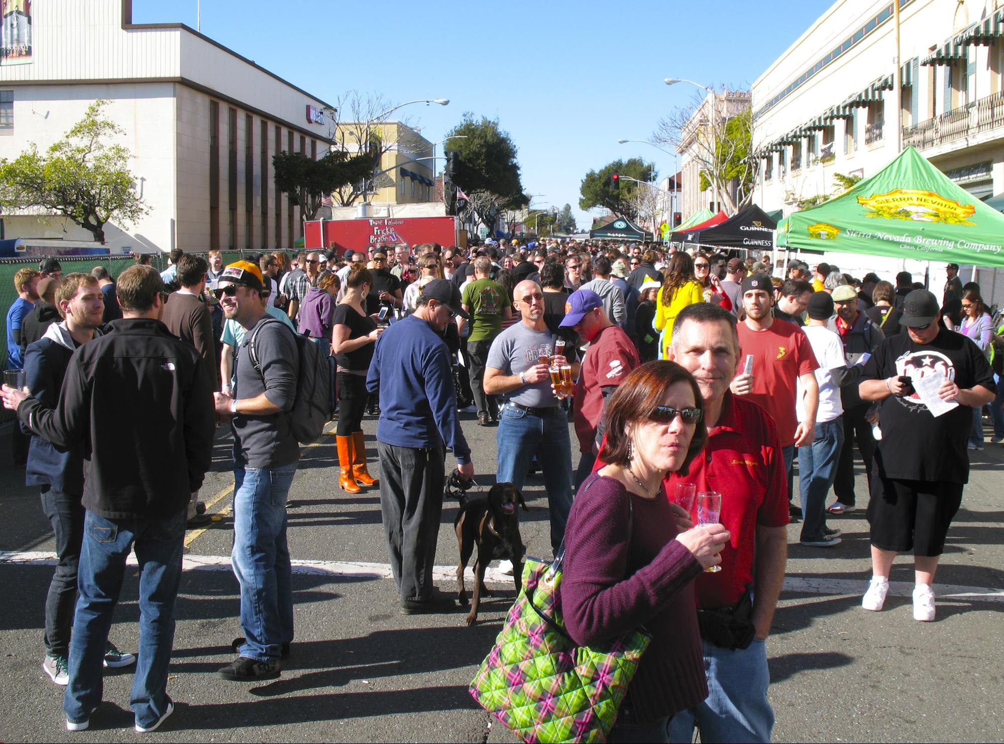 The Bistro's Double IPA Festival predates SF Beer Week and is one of its cherished traditions. Photo by Gail Ann Williams